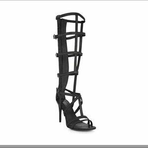 "BCBC ""new"" Gladiator Sandals size 8 Black"